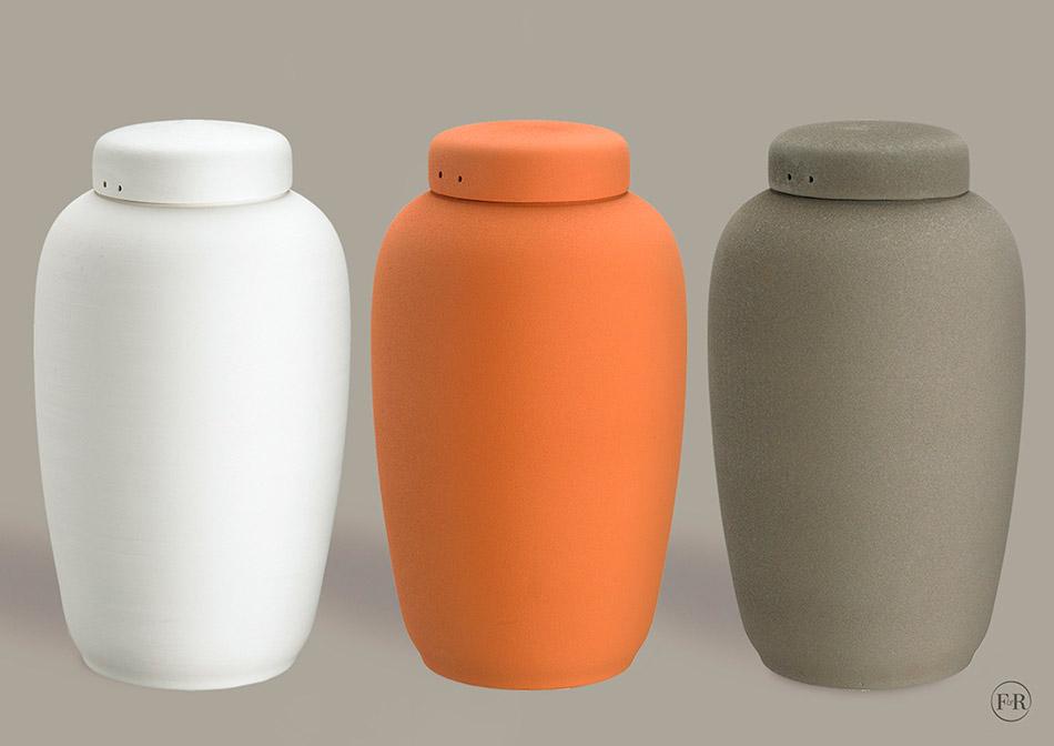 Søholm ler urne
